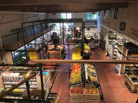 installation domotique supermarché