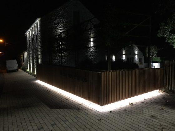 installation domotique lampe extérieur